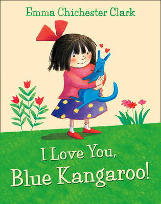 Picture of I Love You, Blue Kangaroo