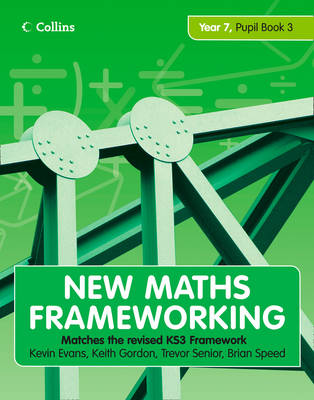 Picture of New Maths Frameworking - Year 7 Pupil Book 3 (Levels 5-6)