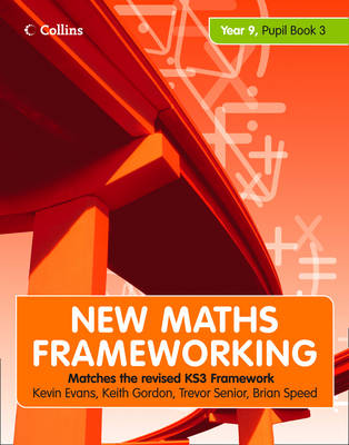 Picture of New Maths Frameworking Year 9: Book 3: Pupil