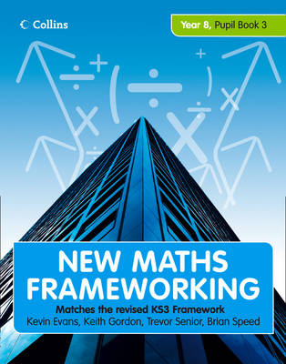 Picture of New Maths Frameworking - Year 8 Pupil Book 3 (Levels 6-7)