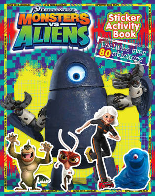 Picture of Monsters vs Aliens  - Sticker Activity Book