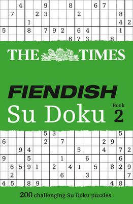 Picture of The Times Fiendish Su Doku: 200 Challenging Su Doku Puzzles: Book 2