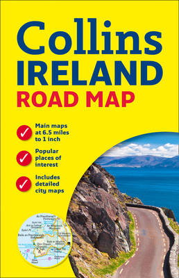 Picture of Ireland Road Map