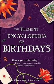 Picture of ELEMENT ENCYCLOPEDIA OF BIRTHD