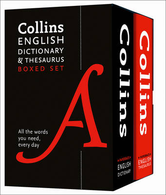 Picture of Collins English Dictionary and Thesaurus Boxed Set