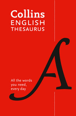Picture of Collins English Paperback Thesaurus: 300,000 Synonyms and Antonyms for Everyday Use