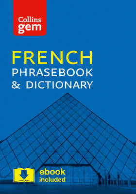 Picture of Collins Gem French Phrasebook and Dictionary: Collins French Phrasebook and Dictionary Gem Edition: Essential Phrases and Words in a Mini, Travel Sized Format