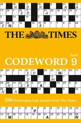 Picture of The Times Codeword 9: 200 challenging logic puzzles from The Times