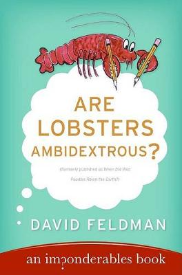 Picture of Are Lobsters Ambidextrous?: An Imponderables Book