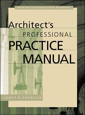 Picture of Architect's Professional Practice Manual