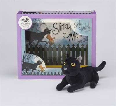 Picture of Slinky Malinki Book & Toy Set