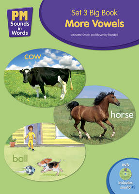Picture of PM Sounds in Words Set 3 Big Book + IWB Software - More Vowels