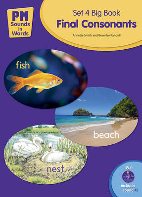 Picture of PM Sounds in Words Set 4 Big Book + IWB Software - Final Consonants