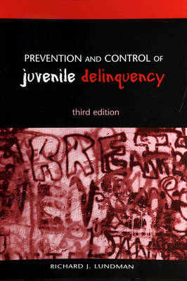 Picture of Prevention and Control of Juvenile Delinquency