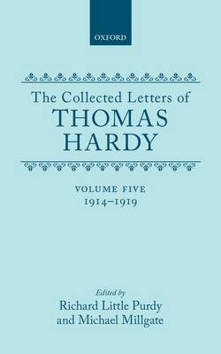 Picture of The Collected Letters of Thomas Hardy: Volume 5: 1914-1919