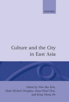 Picture of Culture and the City in East Asia