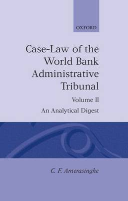 Picture of Case Law of the World Bank Administrative Tribunal: Analytical Digest: v.2