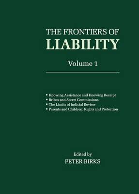 Picture of The Frontiers of Liability: v.1