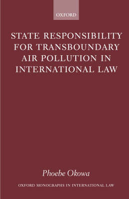 Picture of State Responsibility for Transboundary Air Pollution in International Law