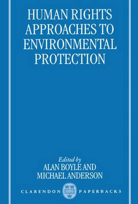 Picture of Human Rights Approaches to Environmental Protection
