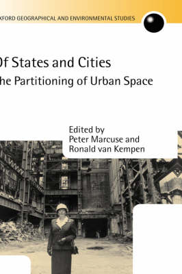 Picture of Of States and Cities: The Partitioning of Urban Space