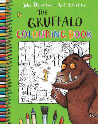Picture of The Gruffalo Colouring Book