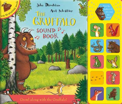 Picture of The Gruffalo Sound Book