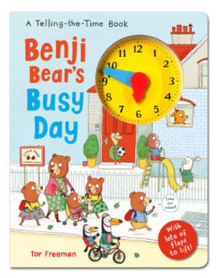 Picture of Benji Bear's Busy Day: A Telling the Time Book