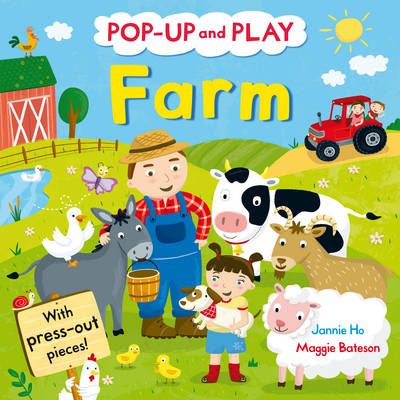 Picture of Pop-up and Play Farm: A Pop-up Gift Book!