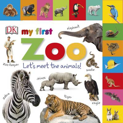 Picture of Tabbed Board Books My First Zoo