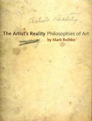 Picture of The Artist's Reality: Philosophies of Art