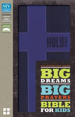 Picture of NIV, Big Dreams, Big Prayers Bible for Kids: Conversations with God