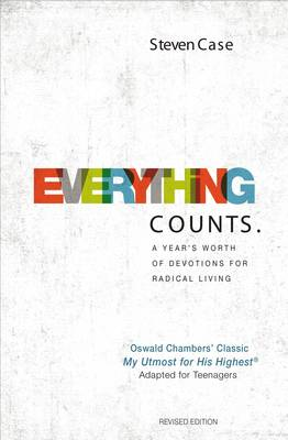 Picture of Everything Counts: A Year's Worth of Devotions for Radical Living