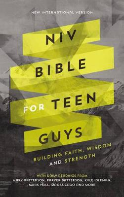 Picture of NIV Bible for Teen Guys: Building Faith, Wisdom and Strength