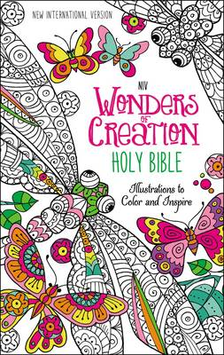 Picture of NIV Wonders of Creation Holy Bible: Illustrations to Color and Inspire