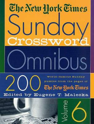 Picture of The New York Times Sunday Crossword Omnibus