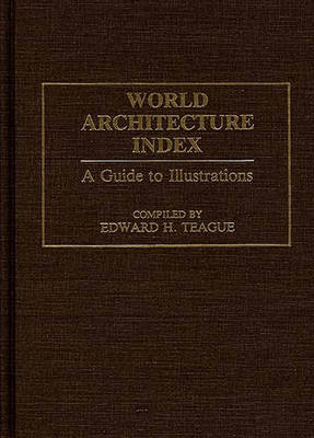 Picture of World Architecture Index: A Guide to Illustrations