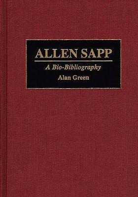 Picture of Allen Sapp: A Bio-Bibliography