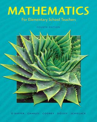 Picture of Mathematics for Elementary School Teachers Plus MyMathLab Student Starter Kit