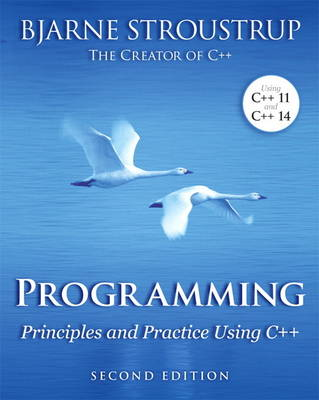 Picture of Programming: Principles and Practice Using C++