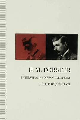 Picture of E.M.Forster: Interviews and Recollections