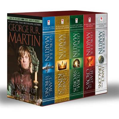 Picture of George R. R. Martin's a Game of Thrones 5-Book Boxed Set (Song of Ice and Fire Series): A Game of Thrones, a Clash of Kings, a Storm of Swords, a Feast for Crows, and a Dance with Dragons
