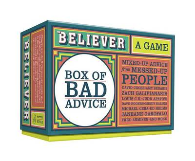 Picture of The Believer Box of Bad Advice: A Game