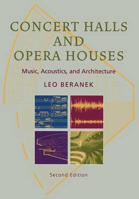 Picture of Concert Halls and Opera Houses: Music, Acoustics, and Architecture
