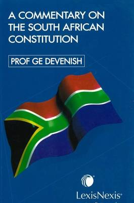 Picture of A commentary on the South African constitution