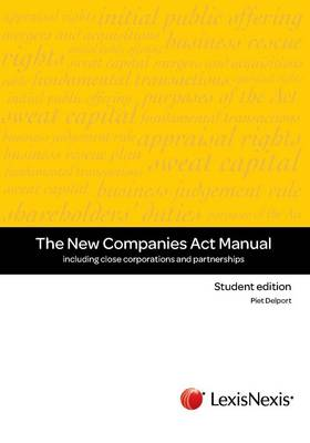 Picture of The new companies act manual - student edition