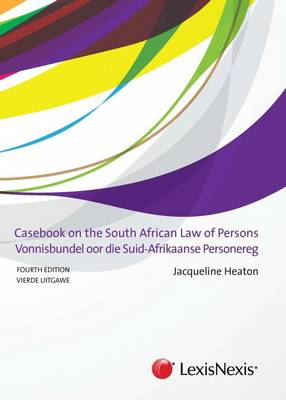 Picture of Casebook on the South African Law of Persons/Vonnisbundel oor die Suid-Afrikaanse Personereg