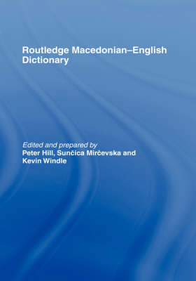 Picture of The Routledge Macedonian-English Dictionary