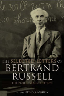 Picture of The Selected Letters of Bertrand Russell: v.2: Public Years 1914-1970