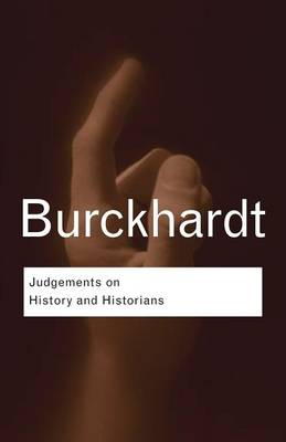 Picture of Judgements on History and Historians
